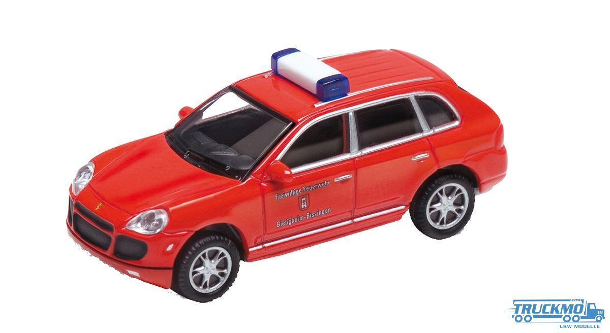 Kibri Feuerwehr Porsche Cayenne Turbo Red 41688 Truckmo Truck Models Your Truck Models Spezialist