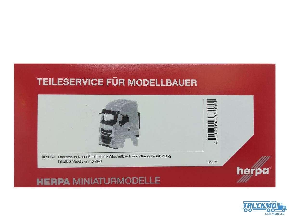 Herpa Fahrerhaus Iveco Stralis ohne Windleitblech und Chassisverkleidung 085052