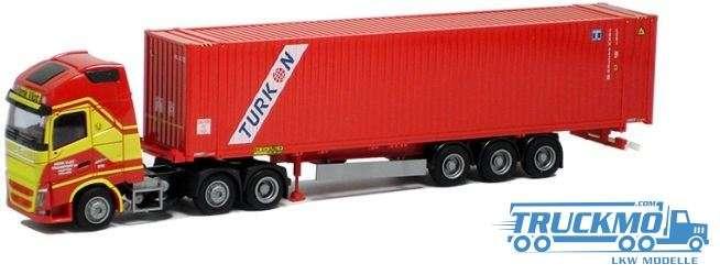 AWM Henk Vlot Turkon Volvo 12 XL Aerop. 45' Container Sattelzug LKW-Modell