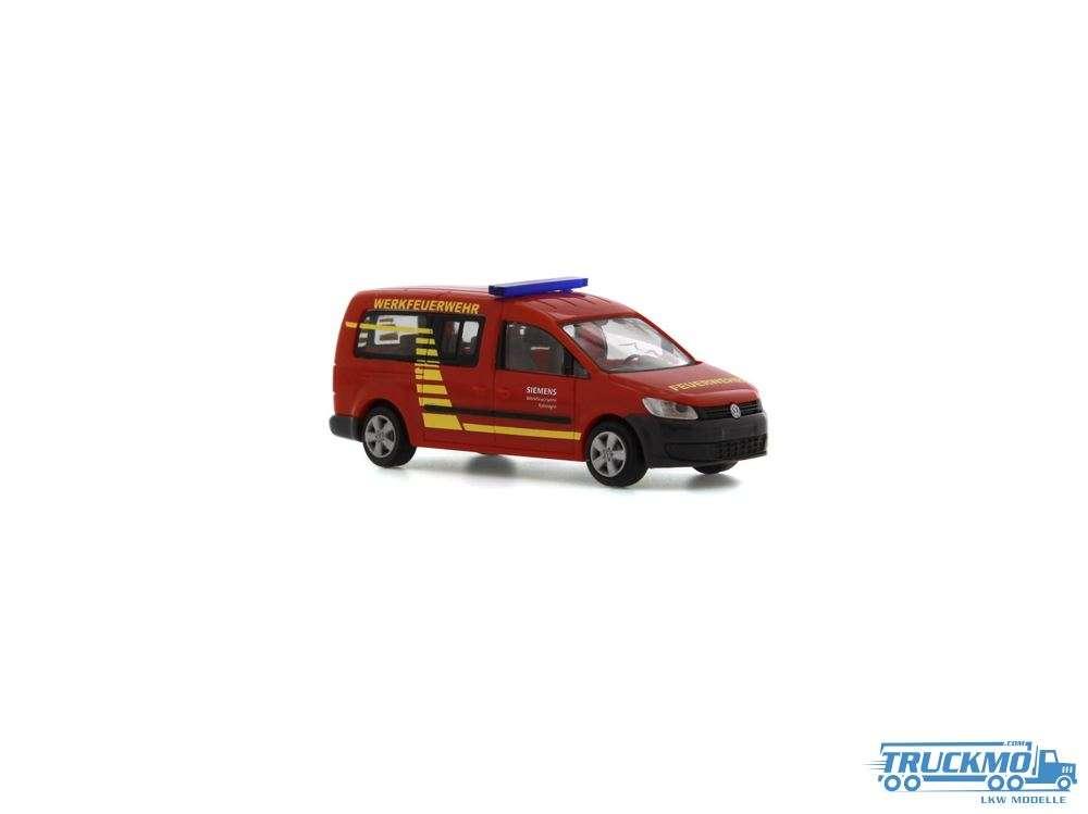 Rietze Werksfeuerwehr Siemens Erlangen Volkswagen Caddy Maxi 11 52708