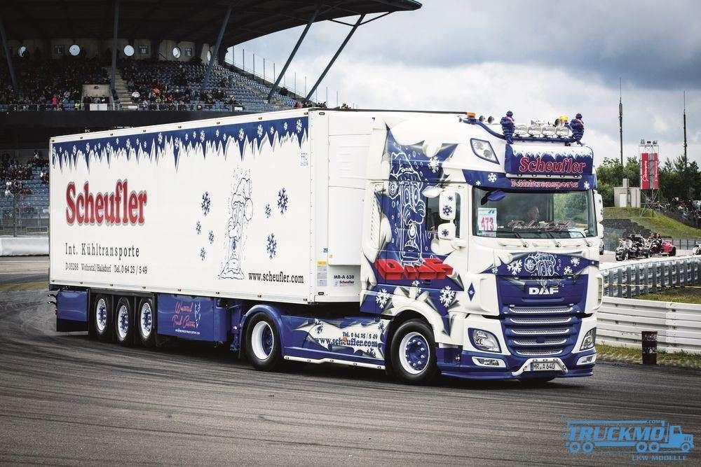 Scheufler Transporte Foto-Leinwand 60x40cm mit Keilrahmen