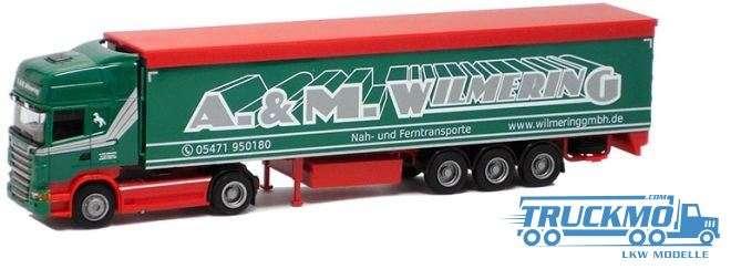 AWM Wilmering Scania 09 Topline Schubboden-Sattelzug 74996 Lkw-Modell