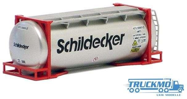 AWM Schildecker 20ft. van Hool Tankcontainer überlang 491154