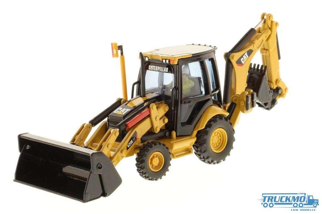 Diecast Masters Baggerlader CAT 420E Baggerlader 85143