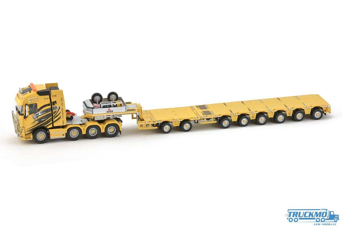 IMC Models Transports Pierre Sarhy TPS Volvo FH Nooteboom Tieflader 33-0085
