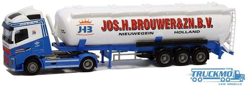 AWM Jos. H. Brouwer Volvo FH04 12 Globetrotter Kippsilo-Sattelzu 53745