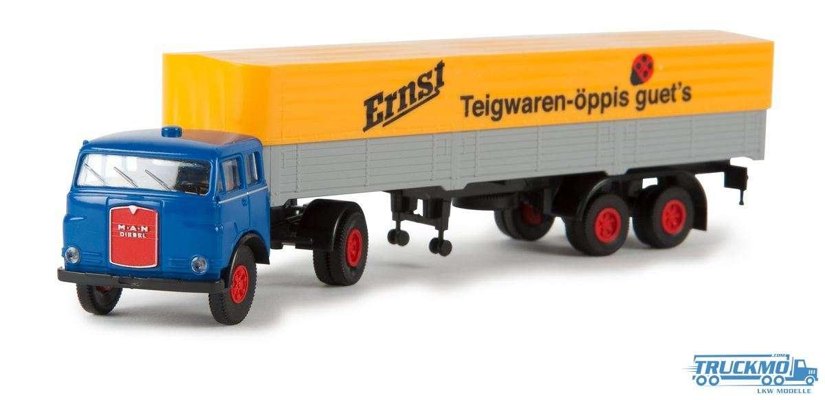 Brekina Modelle Ernst Teigwaren MAN 10.212 97803