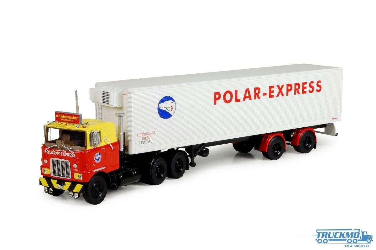 Tekno Habermacher Polar Express Mack F700 6x4 mit Trailer klassik 71752