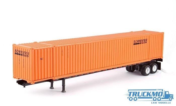 Tonkin 53' Container + Trailer Schneider