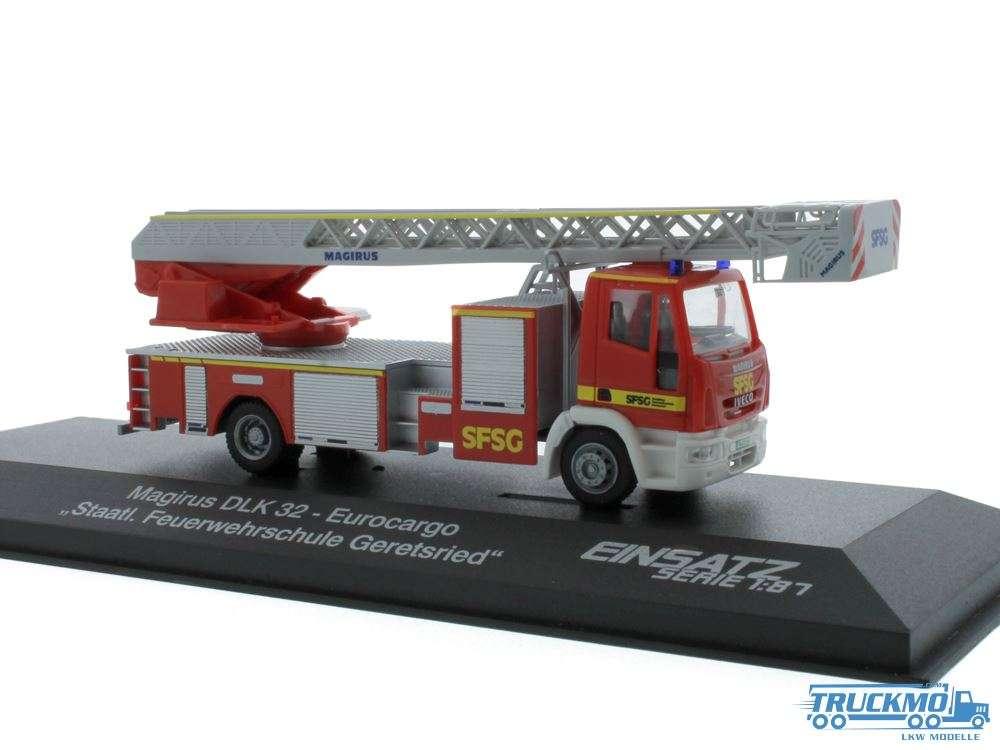 Rietze Feuerwehrschule Geretsried Magirus DLK 68566