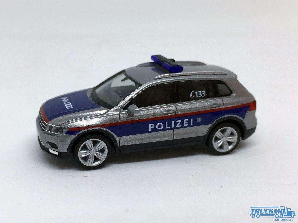 Herpa Polizei Österreich VW Tiguan 931588