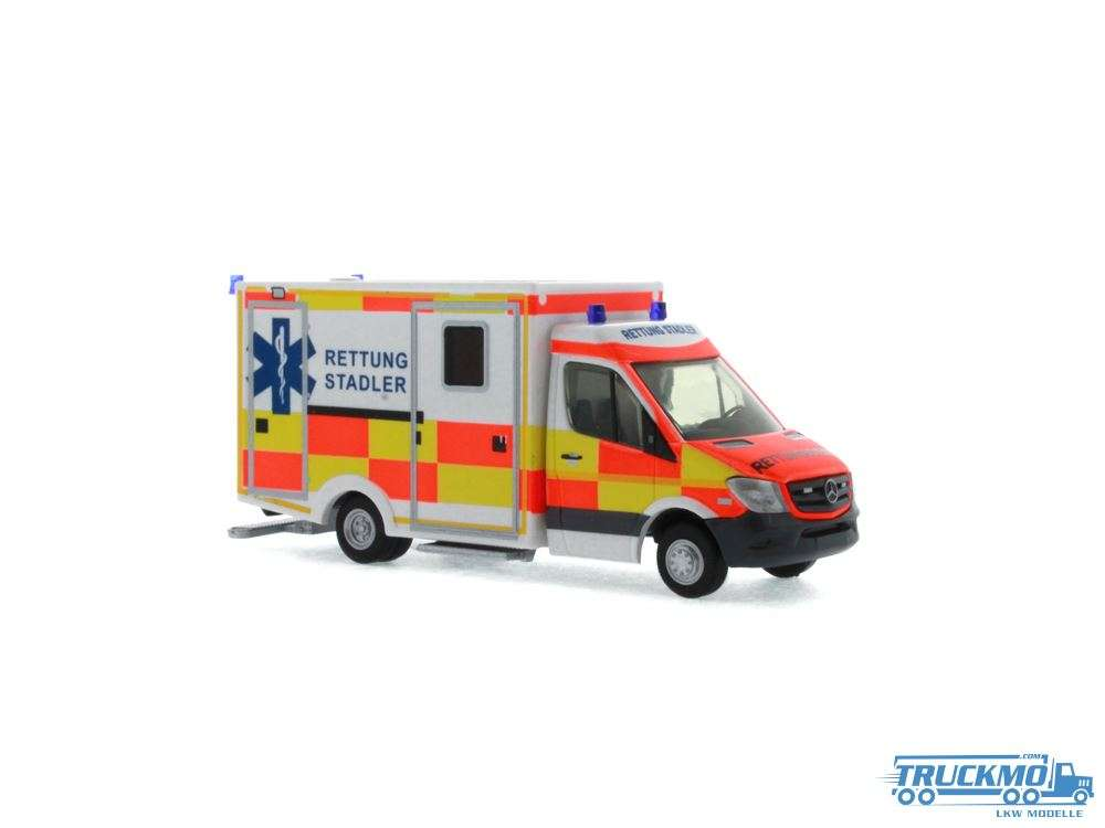 Rietze Ambulanz Stadler WAS RTW Facelift 61721