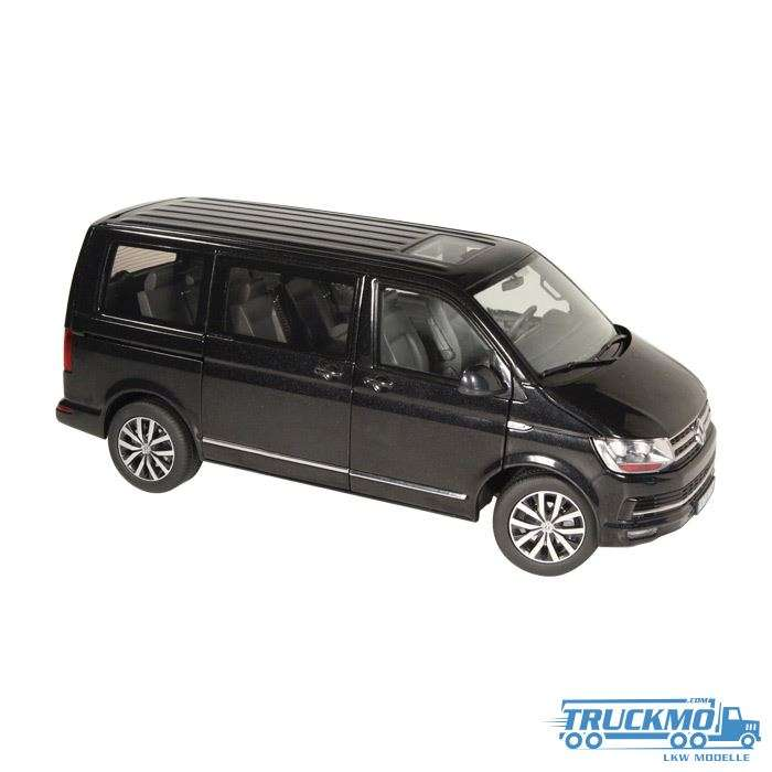 NZG VW Volkswagen T6 Multivan Schwarz 1:18 954/50