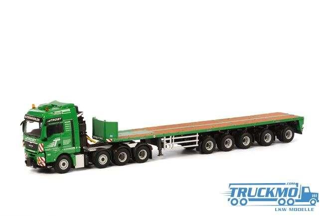 WSI Trost LKW MAN TGX XXL Ballast Trailer 5-Achs Modell
