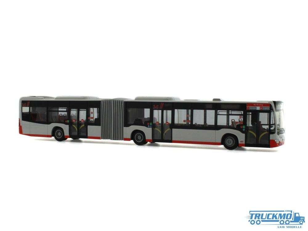 Rietze DVG Duisburg Mercedes Benz Citaro G 15 73602