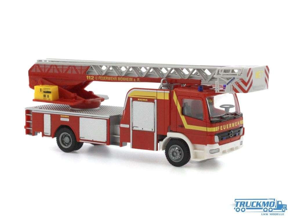 Rietze Feuerwehr Monheim am Rhein Mercedes Benz Atego DLK 71610