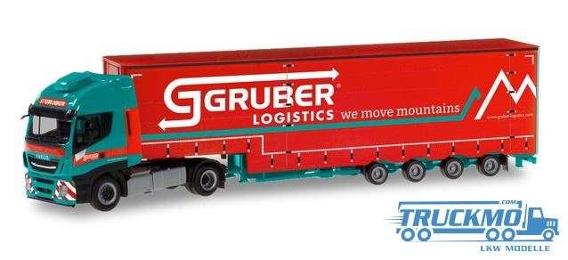 Herpa Gruber Logistics Iveco Stralis XP Volumen-Sattelzug 310512