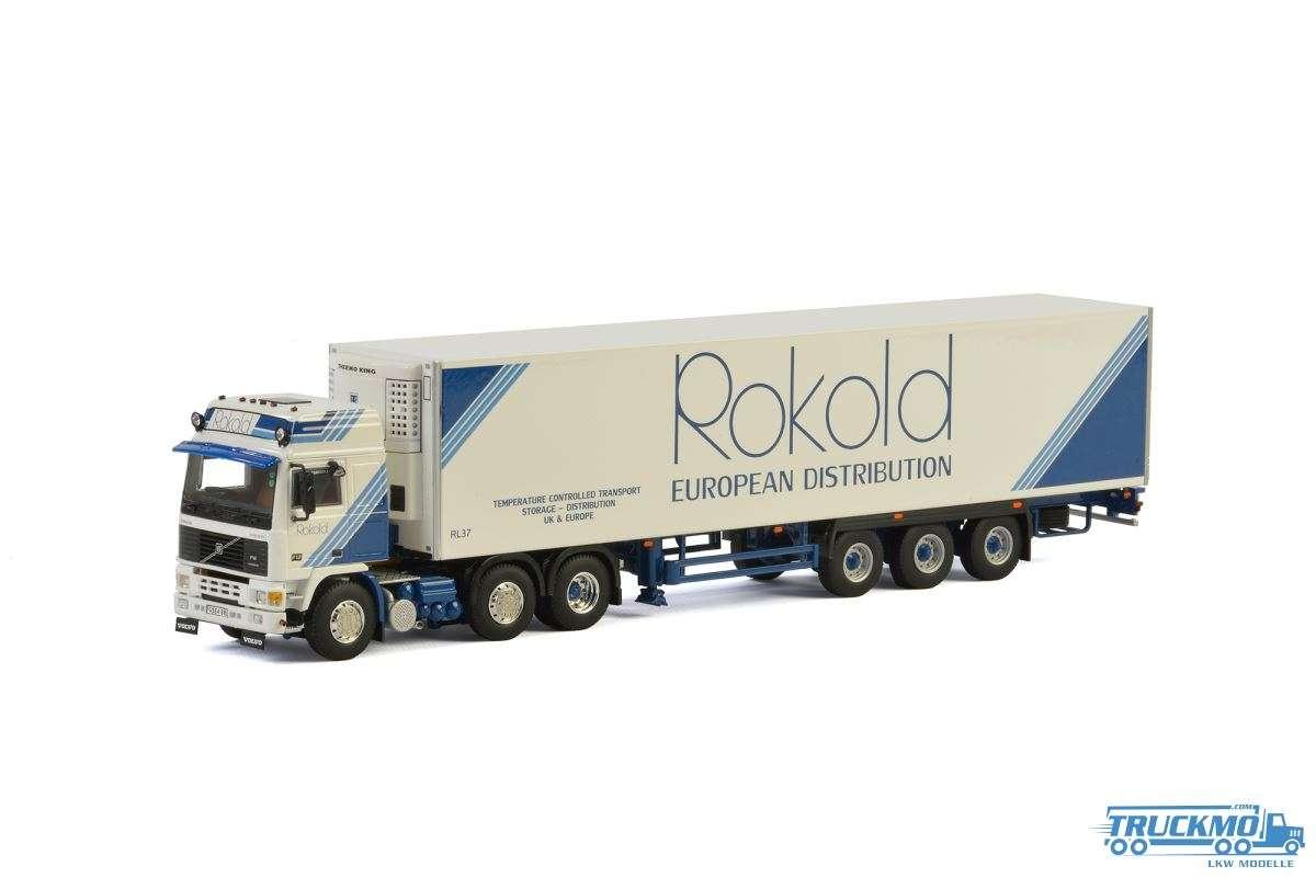 WSI Rokold Volvo F12 Kühlauflieger 3 Achs 01-2522