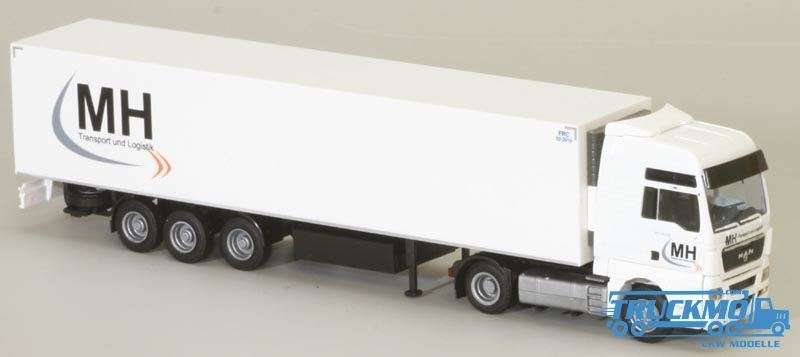 AWM MH Transport LKW Modell MAN TGX XXL Kühlkoffer Sattelzug 74184