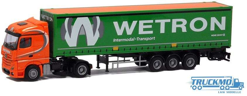 AWM Wetron Mercedes Benz Actros Streamspace 45ft. Container 8599.61