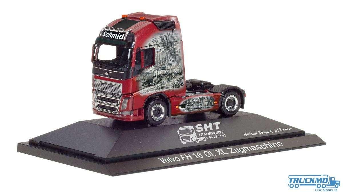 Herpa SHT Transporte Volvo FH Globetrotter XL 110945