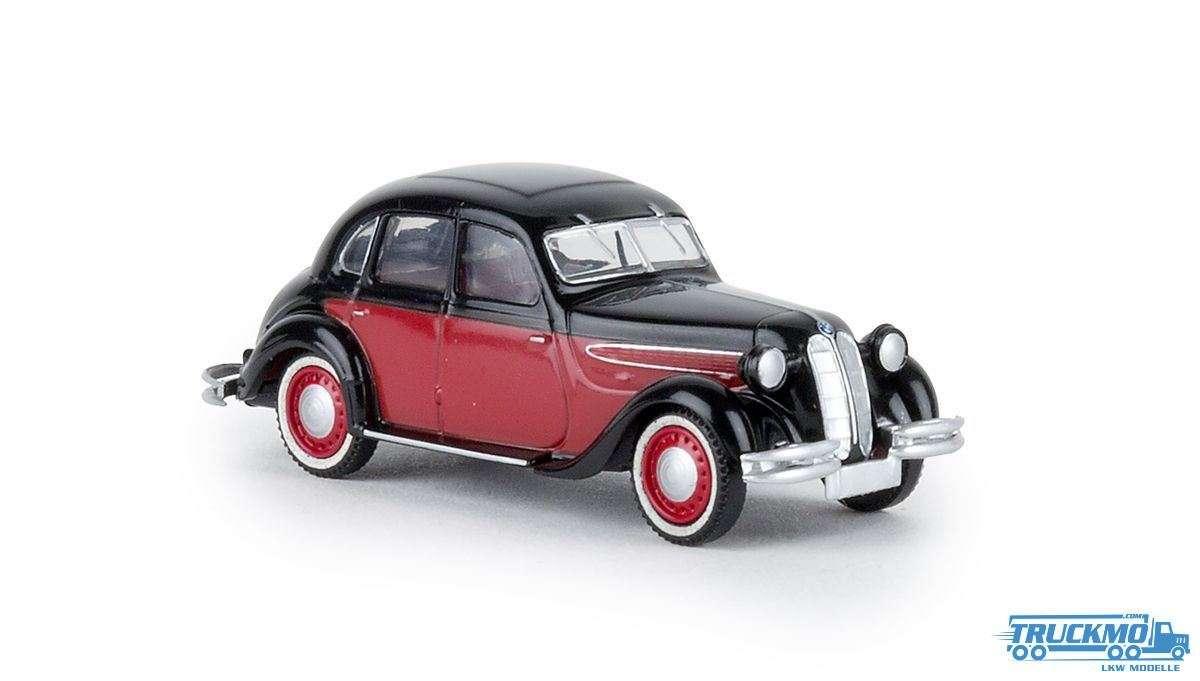 Brekina BMW 236 schwarz rot 24555