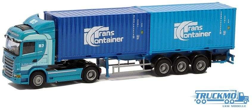 AWM Koy Trans Scania R09 Highline Containerauflieger 53759