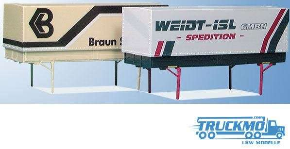 AWM Braun / Weidt-Isl GmbH / Speditions- und Lagerhausgesellschaft mbH / Kayser Wechselpritsche Ver