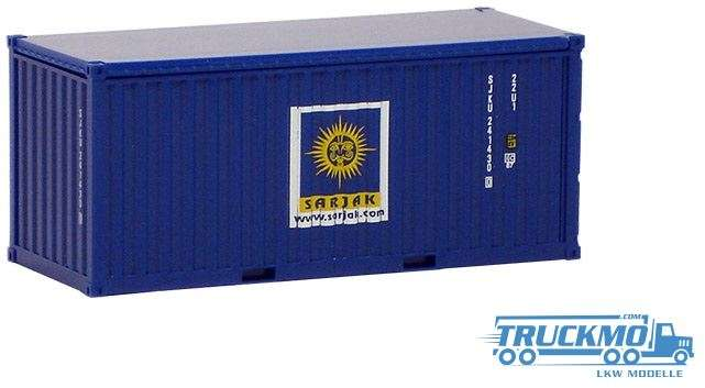AWM Sarjak 20ft. open Top Container 491895