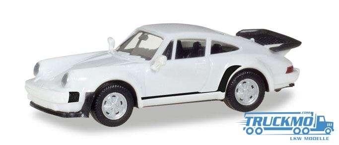 Herpa MiniKit: Porsche 911 Turbo weiß 013307