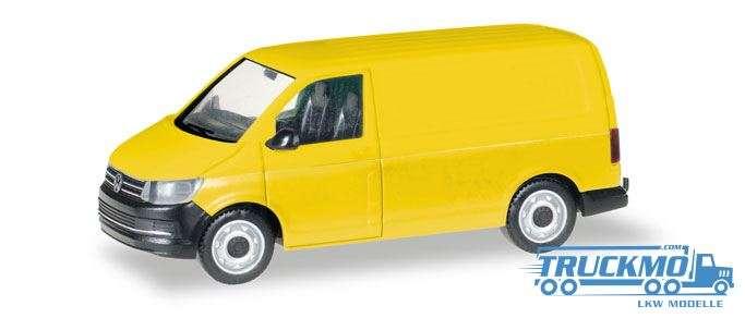 Herpa MiniKit: VW T6 Kasten, gelb 013277