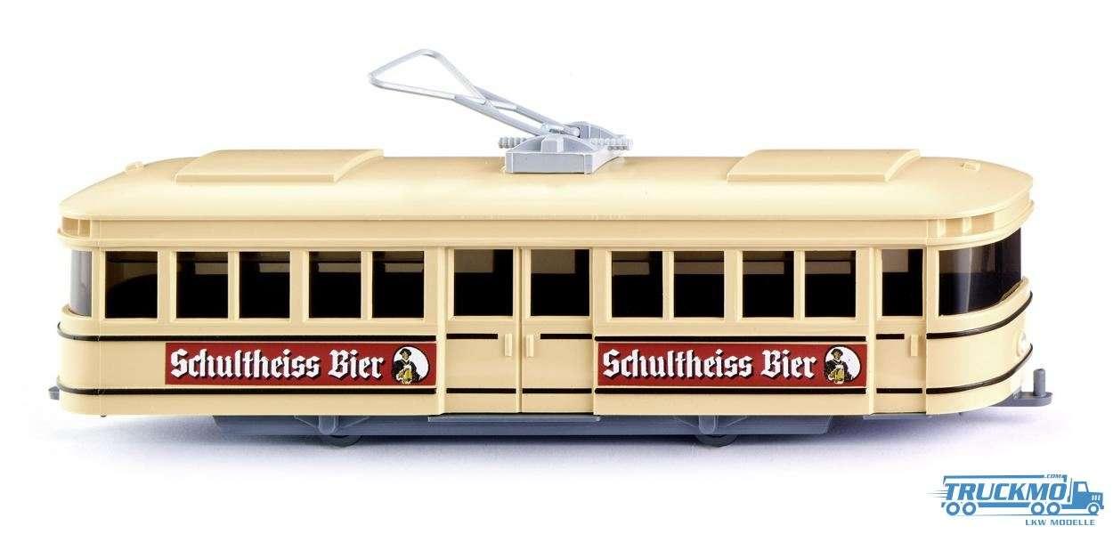 Wiking Schultheiss Bier Straßenbahn Triebwagen 075001