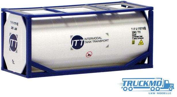 AWM ITT Intermodal Tank Transport 20ft. Tankcontainer 492014