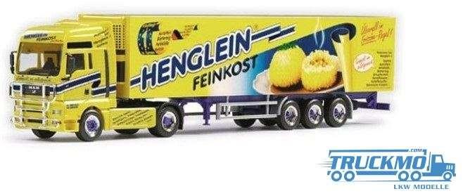 Herpa Henglein Feinkost MAN TGX XXL Kühlkoffer-Sattelzug 120166