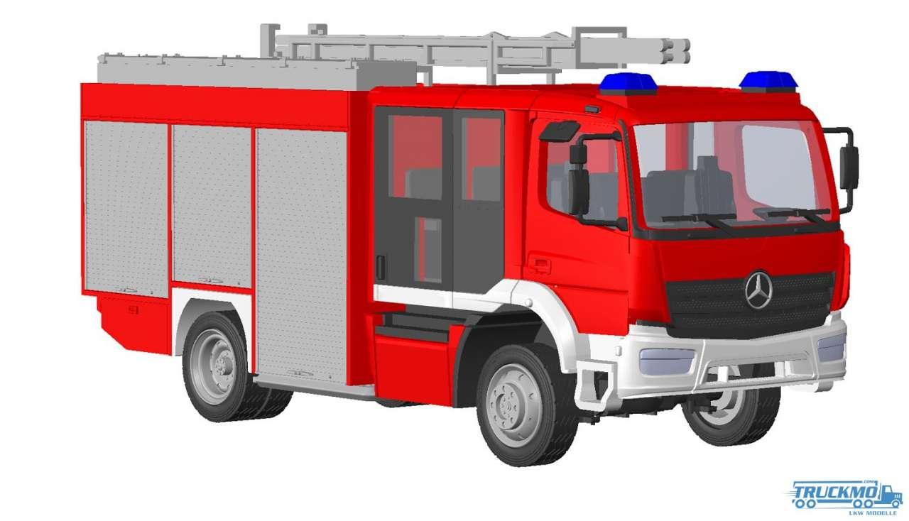 Rietze Schlingmann Atego E6 HLF 20 Vorführdesign 72900