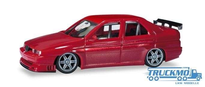 Herpa Alfa Romeo 155 Rennsport rotmetallic 430661