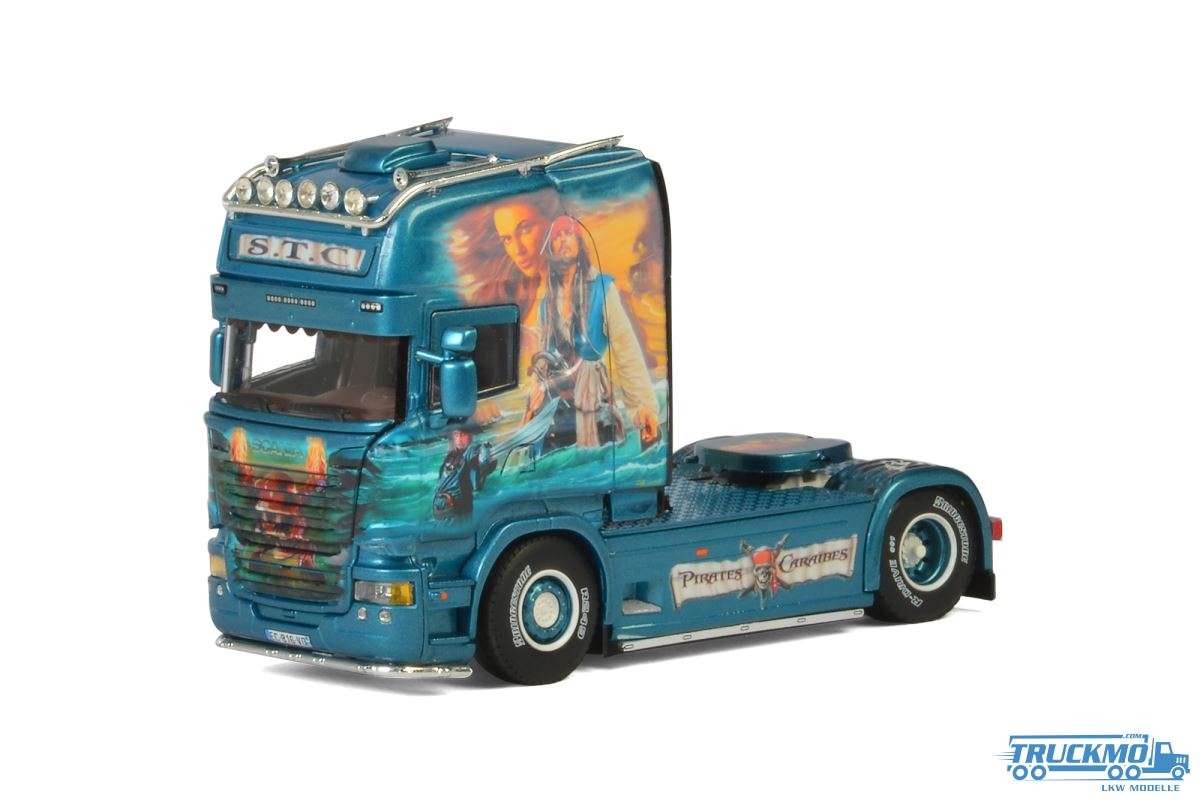 WSI STC Transport LKW Modell Scania Streamline Topline 01-2546