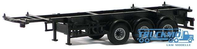 AWM Container-Chassis 30ft. Trailer 3achs (schwarz) 480131