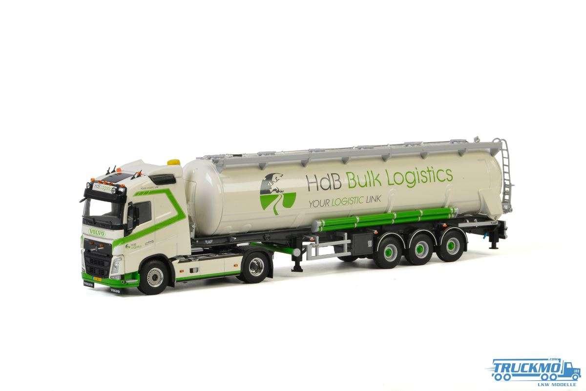 WSI HdB Bulk Logistics Volvo FH4 Globetrotter Silosattelzug 3 Achs 01-2793