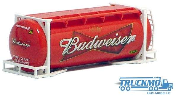 AWM Budweiser 20ft. van Hool tank container 491157