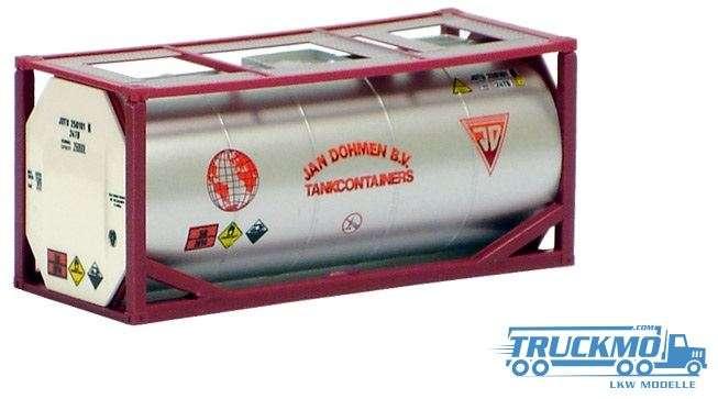 AWM Jan Dohmen B.V. 20ft. Tankcontainer silber lackiert 491023