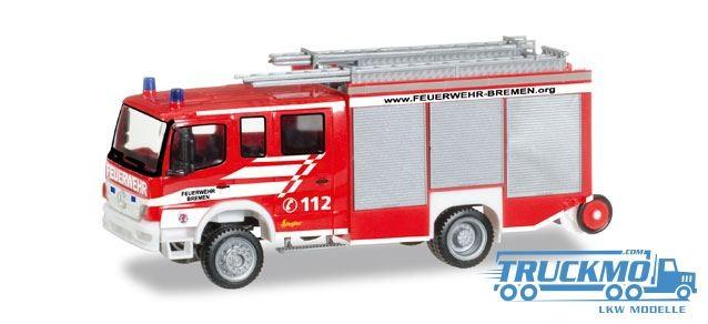Herpa Feuerwehr Bremen Mercedes-Benz Atego LF 20