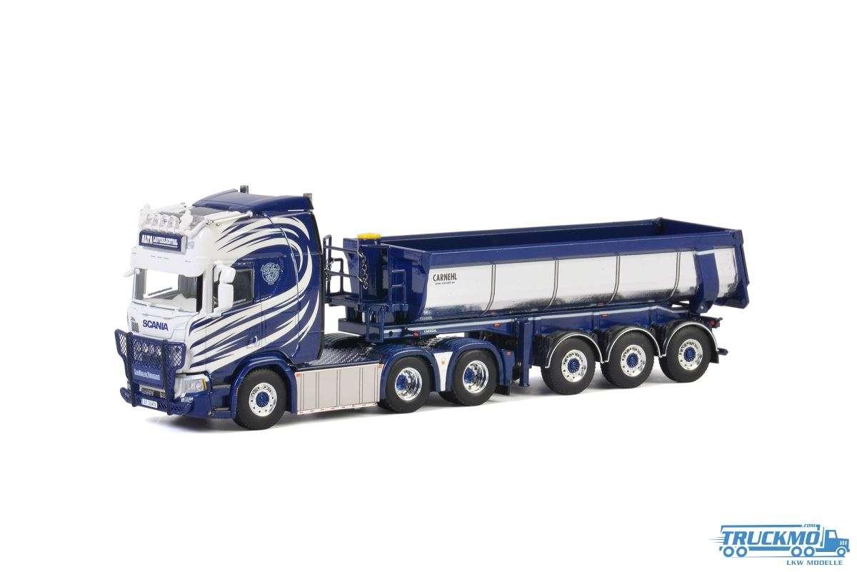 WSI Alta Lastebilsentral Scania R Highline CR20H Halfpipe Kipper Sattelzug 01-2748