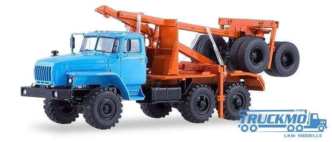 Start Scale Models URAL-43204-41 Langholz-LKW 83SSM1226