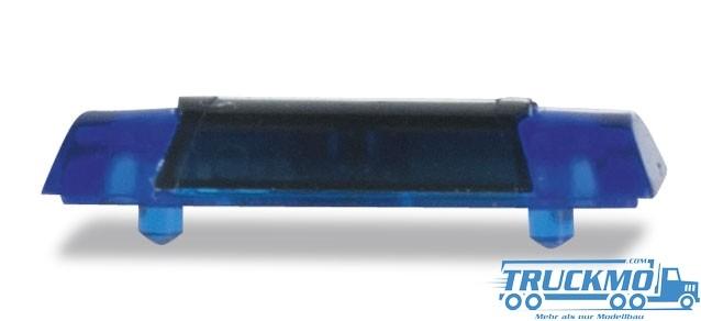 Herpa Warnbalken Hella RTK-7, blautransparent (10 Stück)