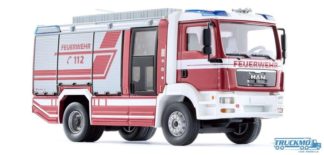 Wiking Feuerwehr MAN TGM Rosenbauer AT LF 043197