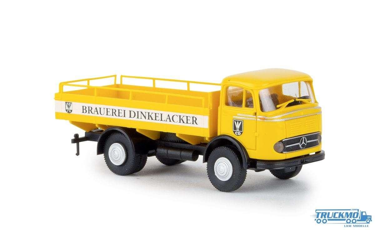 Brekina Brauerei Dinkelacker Mercedes Benz LP 328 Bierpritsche 48031