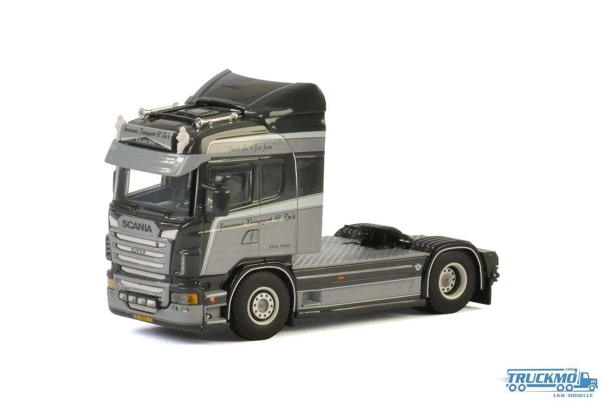 WSI Janssens Transport LKW Modell Scania R Highline 01-2541