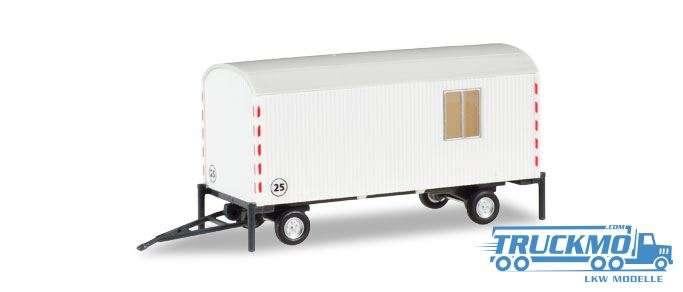 Herpa Bauwagen kommunal weiß 076395-002