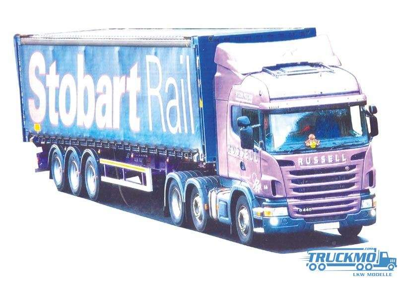 AWM Russel / Stobart Scania R09 Highline 45ft Containerauflieger 74992